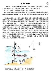 津波の概観