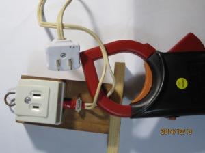 クランプ用電流測定器具