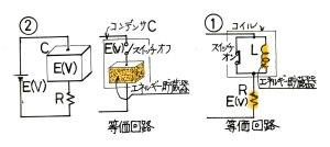 エネルギー貯蔵と等価回路