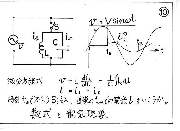 数式と電気現象