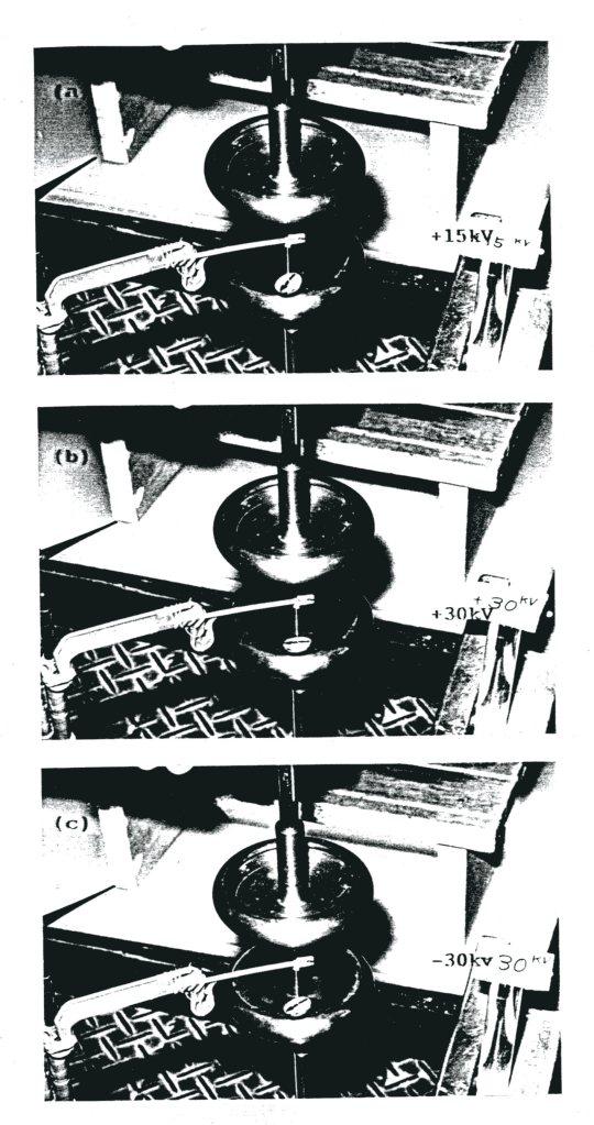 図3.直流電界とマグネットの回転